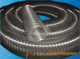 厂家直销PU钢丝管,木工吸尘管,耐酸软管