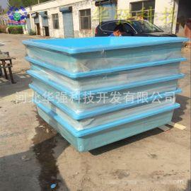 厂家制作玻璃钢养鱼水槽 玻璃钢养殖水槽 蓝色绿色红色可任意选择
