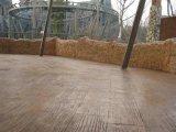 供应桓石地坪材料HS028高强度生态压模地坪精湛工艺全国指导彩色压花混凝土地坪