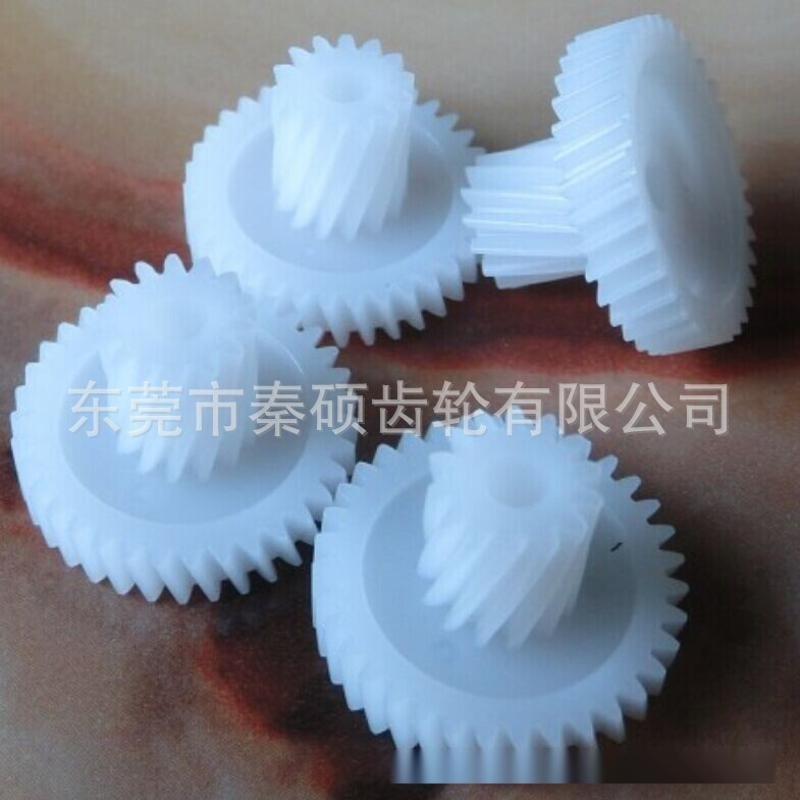東莞秦碩齒輪廠製作塑膠齒輪模具 斜齒輪 精密齒輪