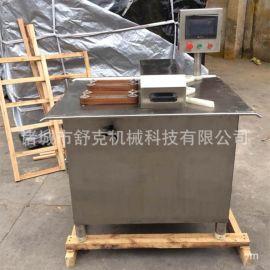 电动捆扎香肠设备 灌肠分段专用高速双条扎线机器 诸城舒克机械