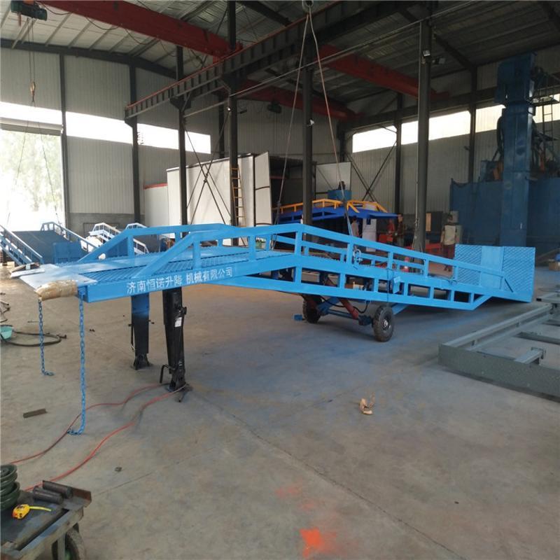 液壓移動式登車橋 移動式登車橋廠家 定做物流集裝箱卸貨平臺