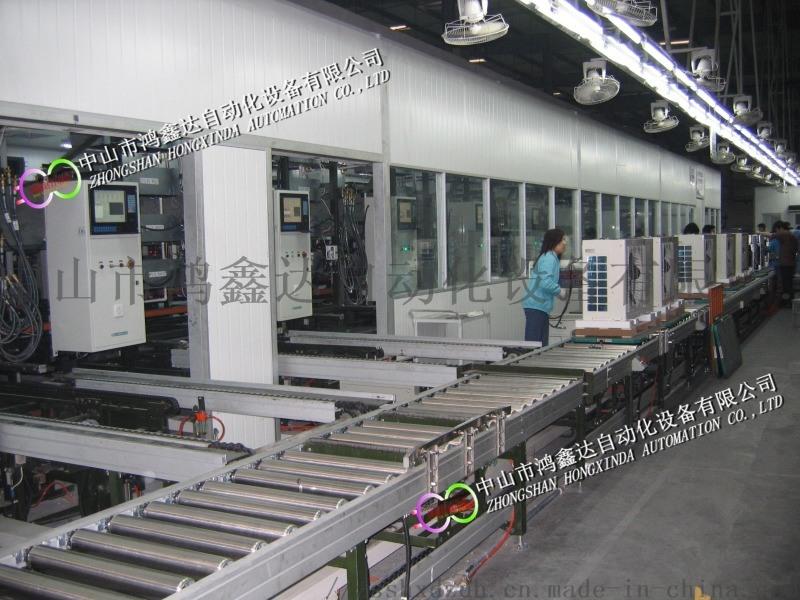 佛山空气能热泵生产线,珠海热泵装配线,热泵检测线