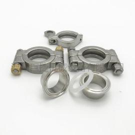 304不锈钢高压卡箍重型高压卡箍 高压铸造强力卡箍