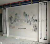 佛山陶瓷背景牆 8*8