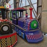 電動商場無軌火車景區遊樂兒童觀光遊覽車
