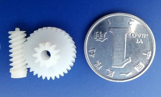 车载CD塑胶蜗轮蜗杆