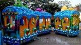 小火車 軌道火車 小火車廠家 小火車價格 遊樂設備 遊樂設施 遊樂設備廠家 鄭州通達新型遊樂設備軌道火車 兒童小火車
