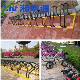 九江自行车停车架/自行车摆放架批发价格