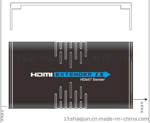 hdmi網線傳輸器1分多路120米lkv373A
