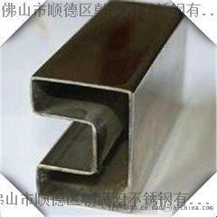 佛山不锈钢方管单槽管