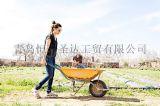 歐美花園手推車 平板車 貨倉車 青島恆泰聖達廠家直銷供應
