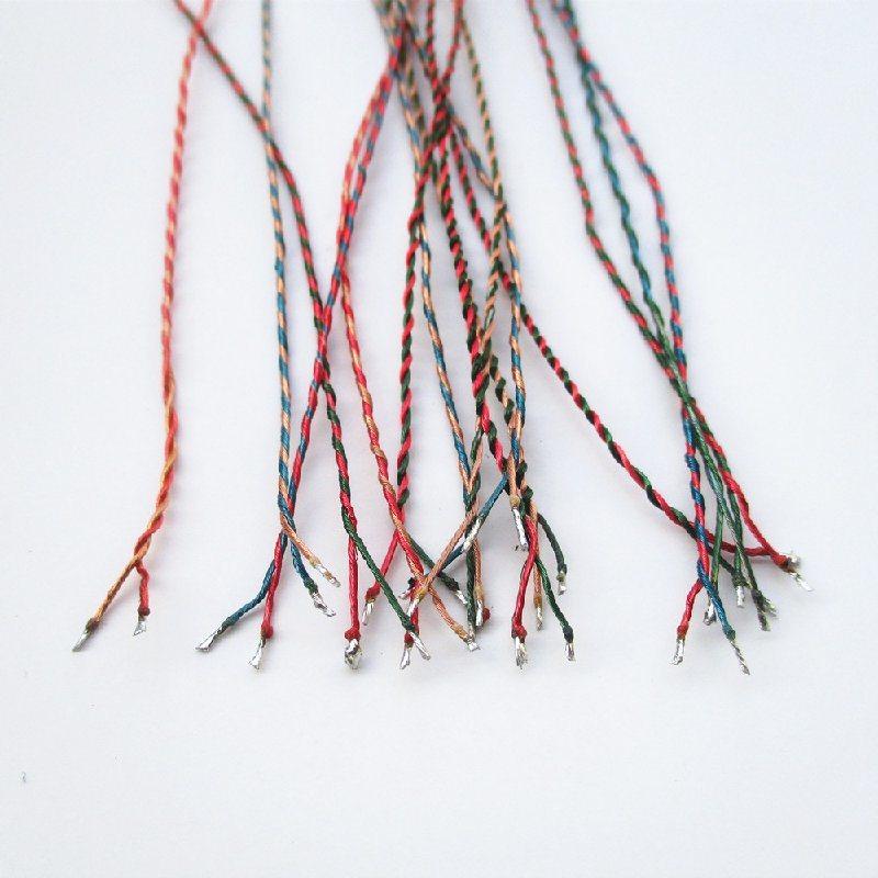 双色漆包线 对绞漆包线 麻花式漆包线 扭绳漆包线连接线厂家定做