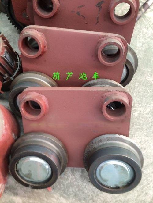 電動葫蘆跑車廠家 直銷陝西 16T電動葫蘆跑車 45號鋼 單軌小車 導繩器 葫蘆變速 跑車價格
