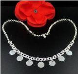 银饰批发 990纯银项链 韩版波西米亚项链 女士套链 时尚大气