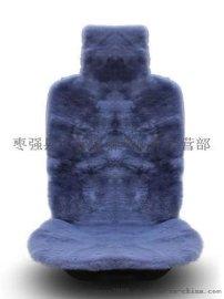 新澳 高密度羊剪绒汽车坐垫 **澳羊毛座垫 冬季短毛绒靠背批发