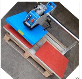 厂家直销 40*60cm上滑式气动双工位烫画机烫钻机压烫机烫印机器
