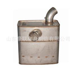 陕汽重卡驾驶室配件 H3000国六消声器 催化消声器 DCU控制器 图片