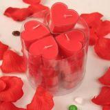 厂家批发心形塑料壳茶蜡多颜色多香味浪漫摆图求婚香薰专用