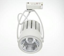 专业私模开发 LED  ,COB 40w轨道灯外壳 , 套件