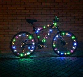 自行车风火轮LEDlighting 车轮装饰 山地车DIY装备 车灯-009