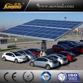 广州尚能供应分布式车棚光伏并网发电系统5000W