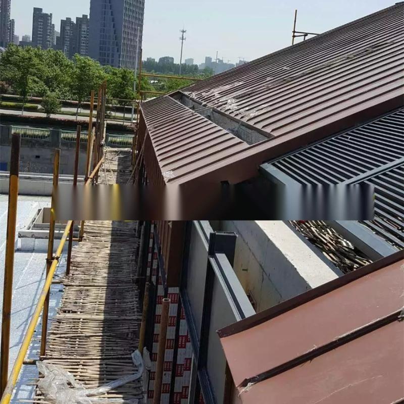 南京铝镁锰厂家 直立锁边板 铝镁锰合金屋面制作安装公司