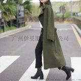 高端阿尔巴卡双面羊绒新款品牌女装折扣一手货源