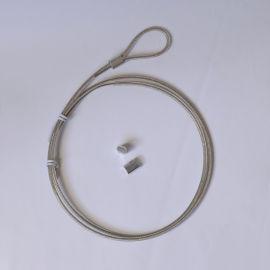 鎖具用鋼絲繩配件,密碼鎖鎖具拉線