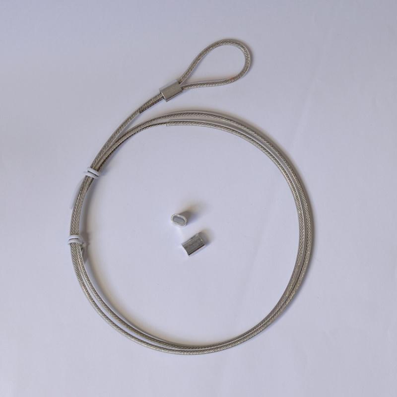 锁具用钢丝绳配件,密码锁锁具拉线