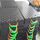 HDPE高分子聚乙烯垫块,混凝土泵车专用支腿垫板