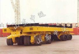 散装货物平板拖车 行李牵引平板拖车