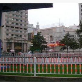 百川防跨型市政护栏