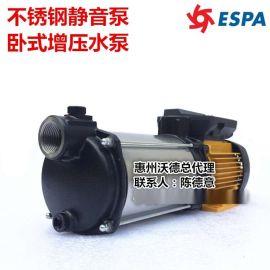 供应PRISMA35 5M泵亚士霸2.3KW不锈钢泵ESPA增压泵超静音泵单相