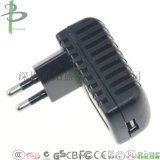 厂家直销过欧规CE认证5V2.0A安防电源适配器