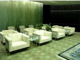 4S店接待沙发 等候区休闲沙发 单人位真皮沙发 贵宾接待沙发 大厅会客沙发