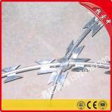 广东厂家现货供应热镀锌电镀锌不锈钢刀片刺线 包塑铁丝防盗刺绳