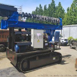 光伏打桩机 行业推荐太阳能光伏发电打桩机钻石机