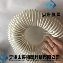 聚氨酯塑筋软管pu防静电50mm真空吸料管