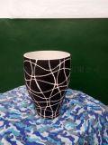 长沙铜官窑手工陶瓷花瓶台面花瓶落地花瓶摆件装饰工艺品