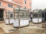 钢化玻璃不锈钢岗亭收费岗亭小区出入口收费亭上海想达为您定制