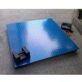 厂家直销 SCS-1t电子地磅 上海1米×1米台面花纹板电子地磅哪里买