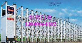 定做鋁合金電動伸縮門,找上海伸縮門廠