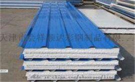 供应天津河东区彩钢板厂家/彩钢复合板/防火岩棉板