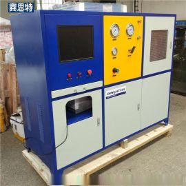 高低压水压试验机 水压试验台 高压胶管耐压爆破试验台