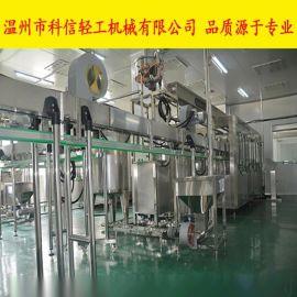 k补水液全自动灌装生产线中小型葡萄糖饮料加工机械