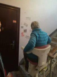 曲线座椅升降平台大同市滁州市启运楼梯升降椅室外电梯