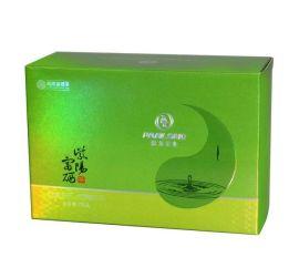广东柯式UV印刷金银卡纸盒牙膏纸盒