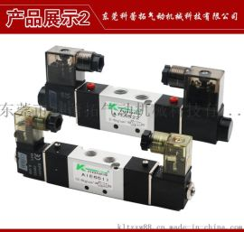 气动电磁阀AIE6513三位五通双电控换向电磁阀 气动元件生产厂家