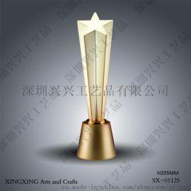 五星奖杯 ,水晶奖杯 ,高尔夫奖杯 ,体育奖杯
